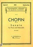 Okładka: Chopin Fryderyk, Sonata In G Minor, Op. 65 (Cello / Piano)