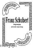 Okładka: Schubert Franz, Impromptu na kwartet smyczkowy (partytura + głosy)