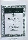 Okładka: Palestrina Giovanni Pierluigi da, Missa Brevis