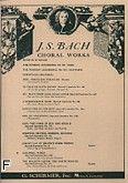 Okładka: Bach Johann Sebastian, Cantata No. 140: Wachet Auf