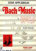 Okładka: Bach Johann Sebastian, Bach Simple Style