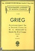 Okładka: Grieg Edward, Accompaniment For A 2nd Piano To Mozart Sonata K545