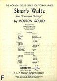 Okładka: Gould Morton, Skier's Waltz from