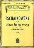 Okładka: Czajkowski Piotr, Album dla młodzieży (24 łatwe utwory), op. 39