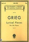 Okładka: Grieg Edward, Lyrical Pieces, Op. 54