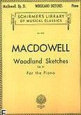 Okładka: MacDowell Edward, Woodland Sketches, Op. 51
