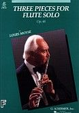 Okładka: Moyse Louis, Three Pieces For Flute Solo Op. 48