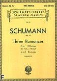 Okładka: Schumann Robert, Three Romances, Op. 94