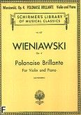 Okładka: Wieniawski Henryk, Polonaise Brillante, Op. 4, in D Major