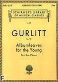 Okładka: Gurlitt Cornelius, Albumleaves for the young
