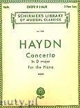 Okładka: Haydn Franz Joseph, Koncert fortepianowy D-dur