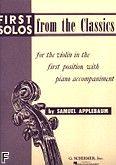 Okładka: Applebaum Samuel, First Solos From The Classics (w I pozycji)