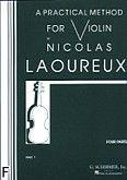 Okładka: Laoureux Nicolas, A Practical Method For Violin Part 1