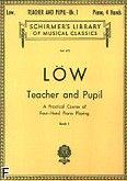 Okładka: Löw Joseph, Teacher and Pupil Book 1