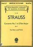 Okładka: Strauss Ryszard, Koncert nr 1 Es-dur, op. 11