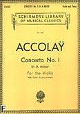 Okładka: Accolay Jean Batiste, Koncert skrzypcowy nr 1, a-moll
