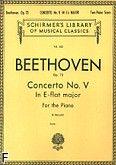 Okładka: Beethoven Ludwig van, Concerto No. V In E-flat major for the Piano, Op. 73