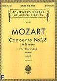 Okładka: Mozart Wolfgang Amadeusz, Koncert fortepianowy nr 22, Es-dur, K.482