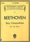 Okładka: Beethoven Ludwig van, Easy Compositions For the Piano Vol. 5