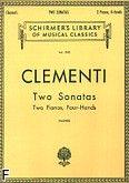 Okładka: Clementi Muzio, 2 sonaty