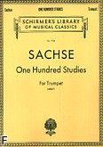Okładka: Sachse Ernest, One Hundred Studies for Trumpet