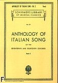 Okładka: Parisotti Alessandro, Anthology Of Italian Song Of The 17th And 18th Centuries book 2