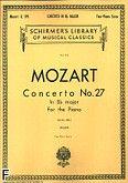 Okładka: Mozart Wolfgang Amadeusz, Koncert fortepianowy nr 27, B-dur, K.595