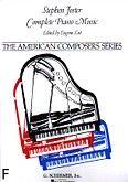 Okładka: Foster Stephen, Complete Piano Music