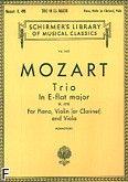 Okładka: Mozart Wolfgang Amadeusz, Trio nr 7 Es-dur, K.498