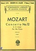 Okładka: Mozart Wolfgang Amadeusz, Concerto No. 12 In A major For the Piano, K. 414