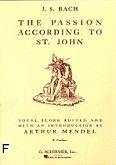 Okładka: Bach Johann Sebastian, St. John Passion