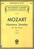 Okładka: Mozart Wolfgang Amadeusz, Nineteen Sonatas For the Piano - book 2 (11-19)