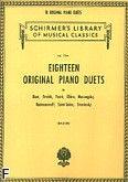 Okładka: Balogh Erno, 18 Original Piano Duets