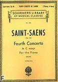 Okładka: Saint-Saëns Camille, Fourth Concerto In C minor Op. 44