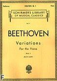Okładka: Beethoven Ludwig van, Variations For the Piano Book 2