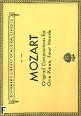 Okładka: Mozart Wolfgang Amadeusz, Original Compositions For One Piano, Four Hands