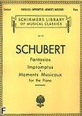 Okładka: Schubert Franz, Fantasias, Impromptus, Moments Musicaux