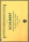 Okładka: Schubert Franz, Original Compositions For Piano, 4 Hands - Volume 1