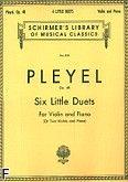 Okładka: Pleyel Ignaz Joseph, Six Little Duets Op. 48 For Violin and Piano