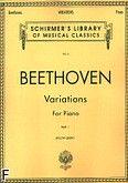 Okładka: Beethoven Ludwig van, Wariacje z. 1