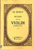 Okładka: Beriot Charles-Auguste de, Metoda gry na skrzypcach z.1