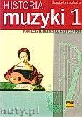 Okładka: Gwizdalanka Danuta, Historia muzyki cz. 1 Podręcznik dla szkół muzycznych: Od antyku do opery barokowej