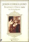 Okładka: Corigliano John, Snapshot: Circa 1909 for String Quartet (score + parts)
