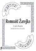 Okładka: Żarejko Romuald, A śpis Bartek na 3 skrzypiec (partytura + głosy)