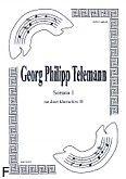 Okładka: Telemann Georg Philipp, Sonata 1 na duet klarnetów B
