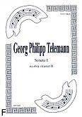 Okładka: Telemann Georg Philipp, Sonata 1 na obój i klarnet B