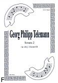 Okładka: Telemann Georg Philipp, Sonata 2 na obój i klarnet B