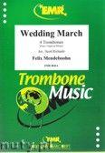 Okładka: Mendelssohn-Bartholdy Feliks, Wedding March (partytura + głosy)