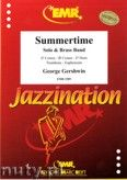 Okładka: Gershwin George, Summertime. Trombone & Brass Band