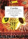 Okładka: Monti Vittorio, Csardas (version in C minor ). Solo and Wind Band